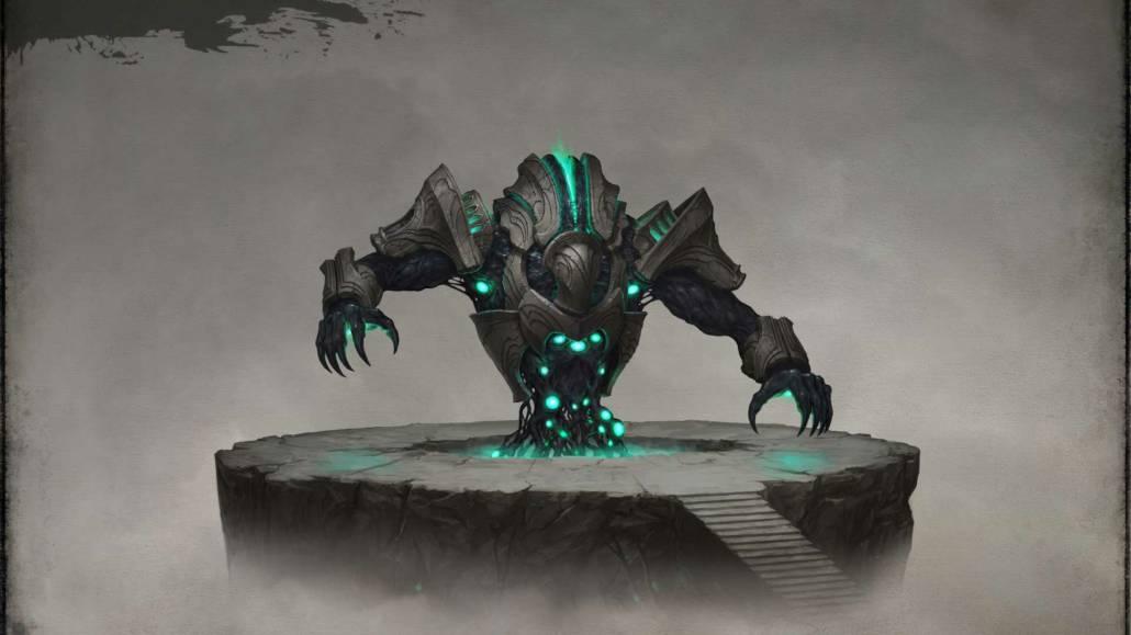 Robot concept art design by illustrator, Sven Bybee.
