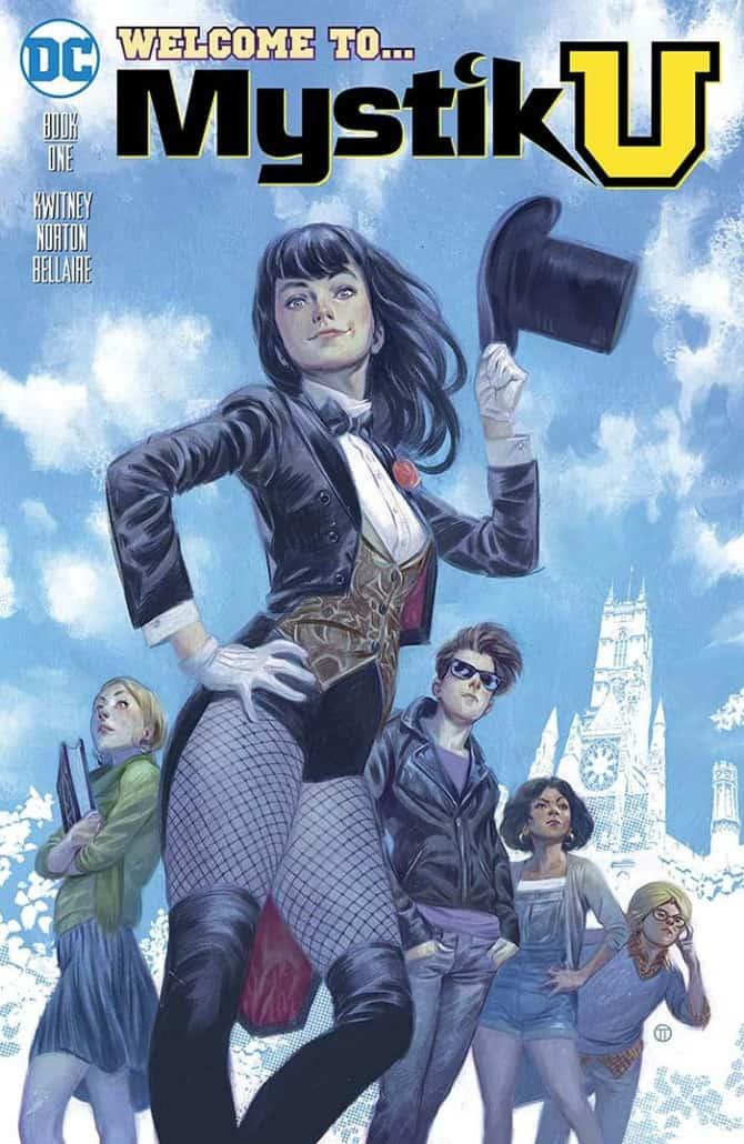 Alisa Kwitney Mystik U graphic novel cover art.