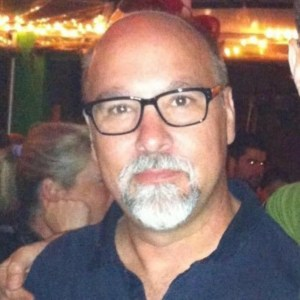 Headshot of illustrator, painter, and comic book artist, Bill Koeb