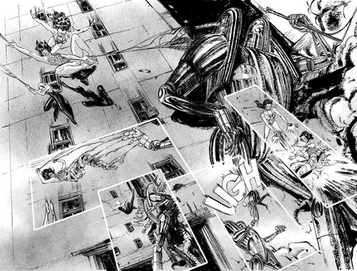 Comics and sequential art from Marvel Comics, Spiderwomen illustrated by comic book artist, Vanesa R. Del Rey