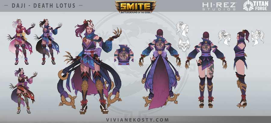 Fantasy creature design samples