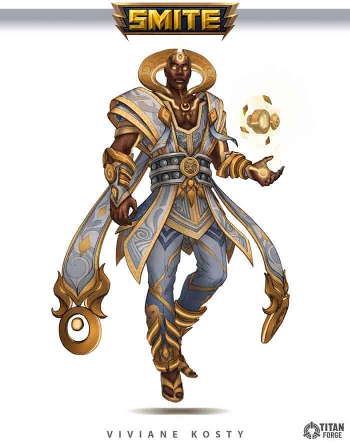 Fantasy warlock character design