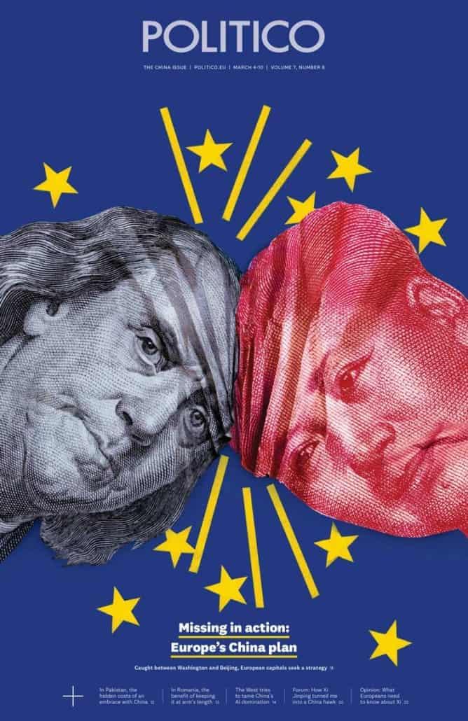 Politico cover art