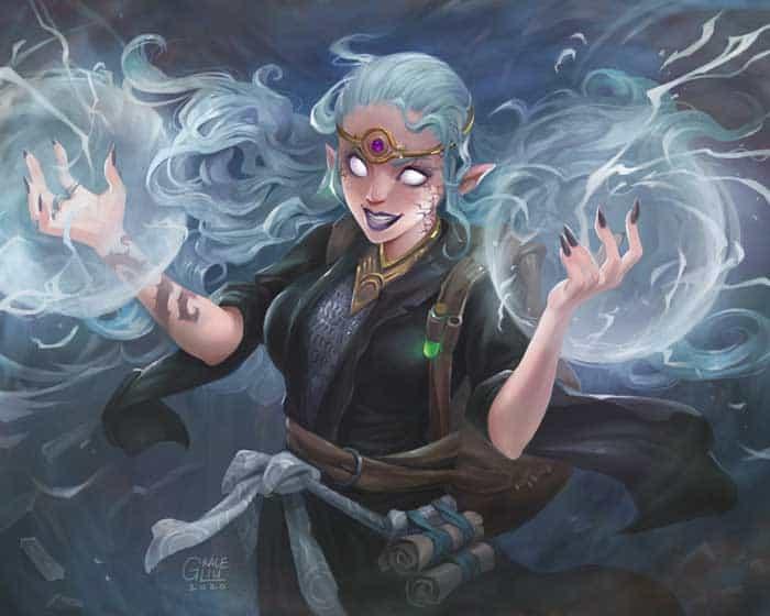 Fantasy art by art director Grace Liu