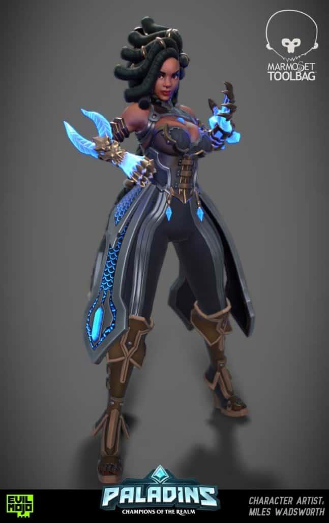 Fantasy concept art design