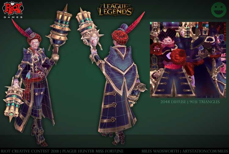 League of Legends character design